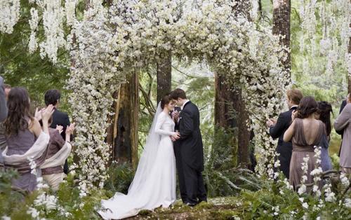 Фото свадьбы Эдварда и Бэллы