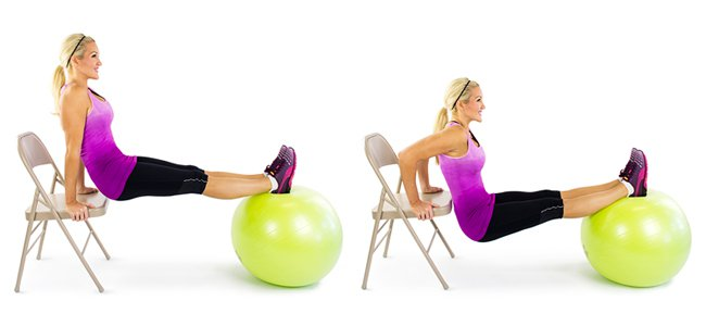 Упражнение для всего тела и трицепсов